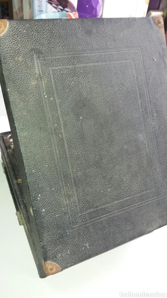 Gramófonos y gramolas: Gramofono portatil VICTORIA con mecanismo thorens - Foto 3 - 108300006