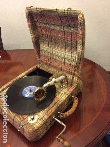 GRAMOLA CONCERT EDELWEISS (Radios, Gramófonos, Grabadoras y Otros - Gramófonos y Gramolas)