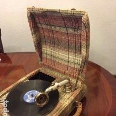 Gramófonos y gramolas: GRAMOLA CONCERT EDELWEISS . Lote 109040935