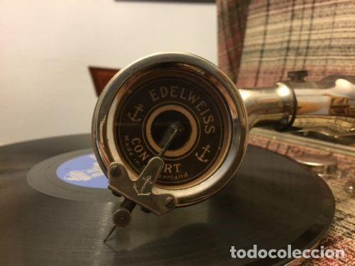 Gramófonos y gramolas: GRAMOLA CONCERT EDELWEISS - Foto 2 - 109040935