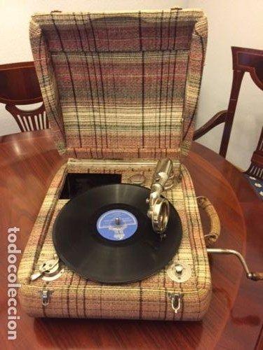Gramófonos y gramolas: GRAMOLA CONCERT EDELWEISS - Foto 5 - 109040935