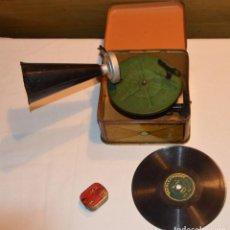 Gramófonos y gramolas: GRAMOFONO BING PIGMYPHONE 1925 , MUY BUEN ESTADO Y FUNCIONANDO. Lote 110617739