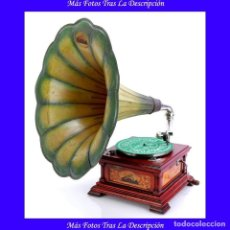 Gramófonos y gramolas: ANTIGUO GRAMÓFONO LA VOZ DE SU AMO ESPAÑOL MODELO 5. ESPAÑA, CIRCA 1925. Lote 115070607