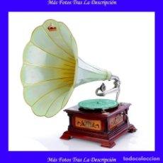 Gramófonos y gramolas: ANTIGUO GRAMÓFONO LA VOZ DE SU AMO ESPAÑOL MODELO 5. ESPAÑA, CIRCA 1920. Lote 115071019