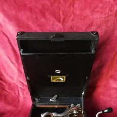 Gramófonos y gramolas: GRAMOFONO HIS MASTER C101L FRANCIA 1929, EXCELENTE ESTADO Y FUNCIONAMIENTO, VER VIDEO. Lote 115171103