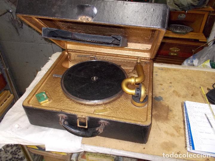 Gramófonos y gramolas: Gramola Funcionando - Foto 9 - 118937803