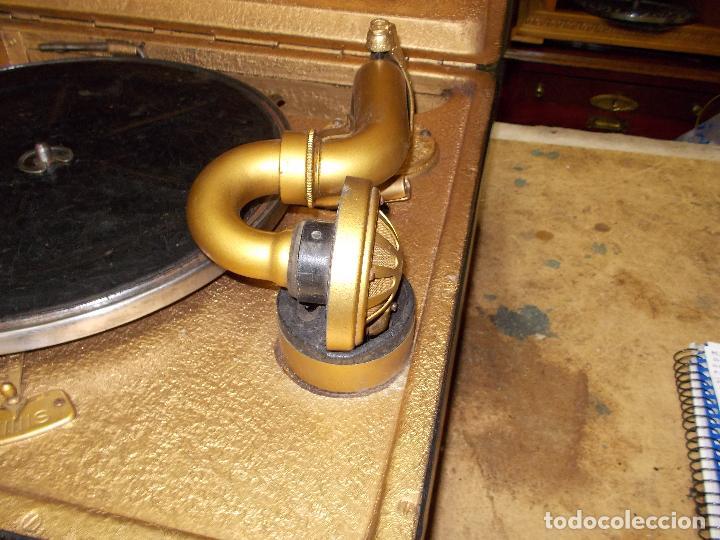 Gramófonos y gramolas: Gramola Funcionando - Foto 10 - 118937803