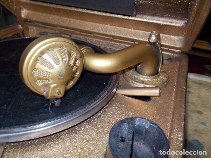 Gramófonos y gramolas: Gramola Funcionando - Foto 12 - 118937803