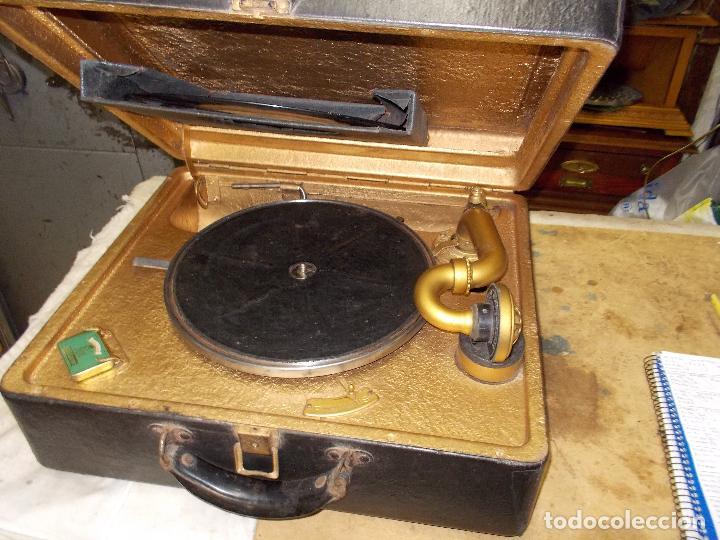 Gramófonos y gramolas: Gramola Funcionando - Foto 13 - 118937803