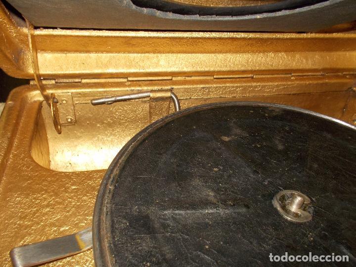 Gramófonos y gramolas: Gramola Funcionando - Foto 16 - 118937803