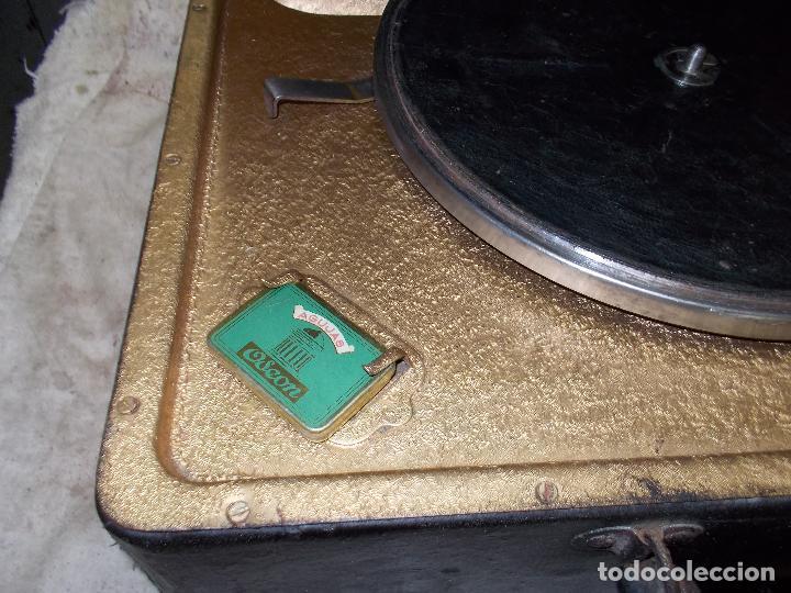 Gramófonos y gramolas: Gramola Funcionando - Foto 18 - 118937803