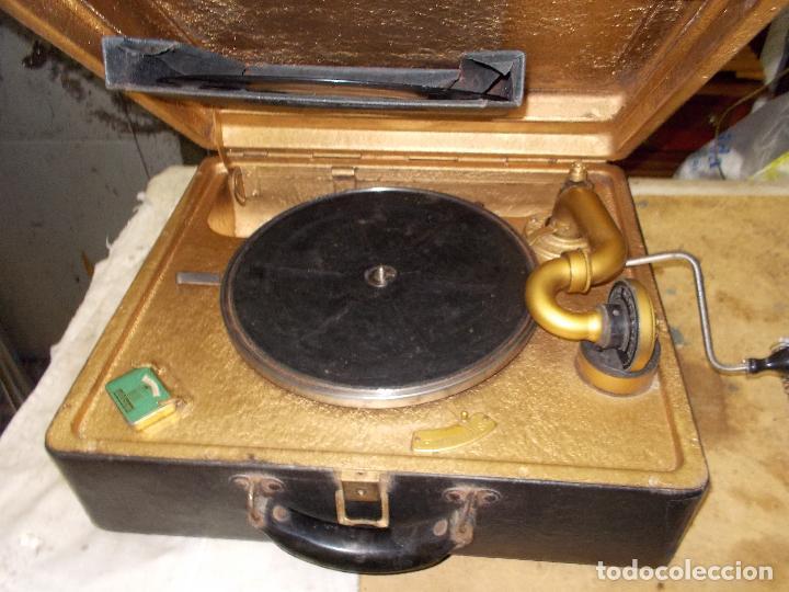 Gramófonos y gramolas: Gramola Funcionando - Foto 19 - 118937803