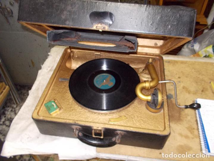 Gramófonos y gramolas: Gramola Funcionando - Foto 20 - 118937803