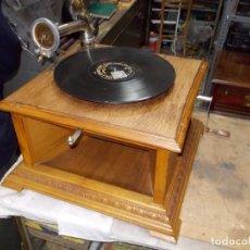 Gramófonos y gramolas: GRAMOFONO PATHEPHONE Nº 30 FUNCIONANDO. Lote 121064775