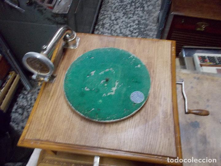 Gramófonos y gramolas: Gramofono Pathephone Nº 30 funcionando - Foto 3 - 121064775