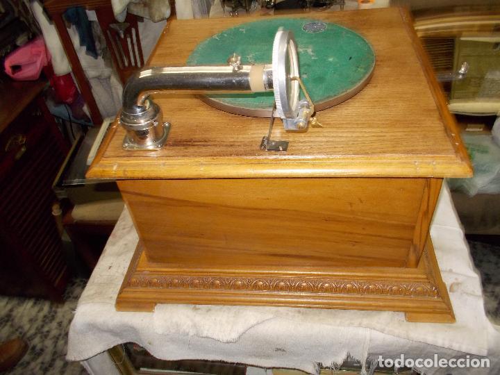 Gramófonos y gramolas: Gramofono Pathephone Nº 30 funcionando - Foto 11 - 121064775