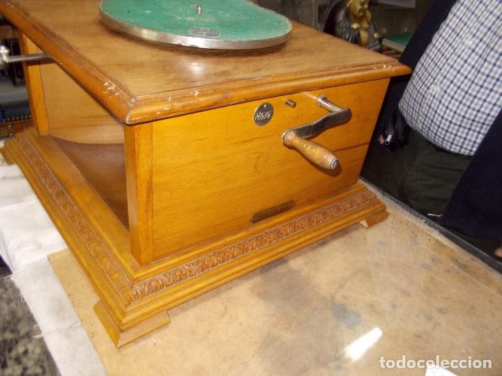 Gramófonos y gramolas: Gramofono Pathephone Nº 30 funcionando - Foto 17 - 121064775