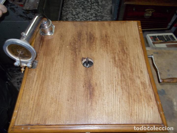 Gramófonos y gramolas: Gramofono Pathephone Nº 30 funcionando - Foto 23 - 121064775
