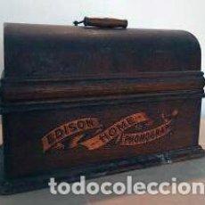 Gramófonos y gramolas: FONÓGRAFO ANTIGUO EDISON (PARA REPARAR). Lote 122022315