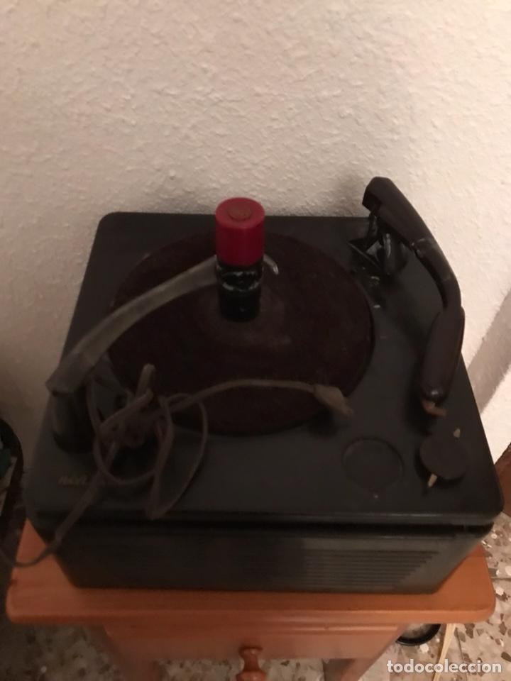 Gramófonos y gramolas: ANTIGUA VITROLA RCA VICTOR - Foto 3 - 122626983