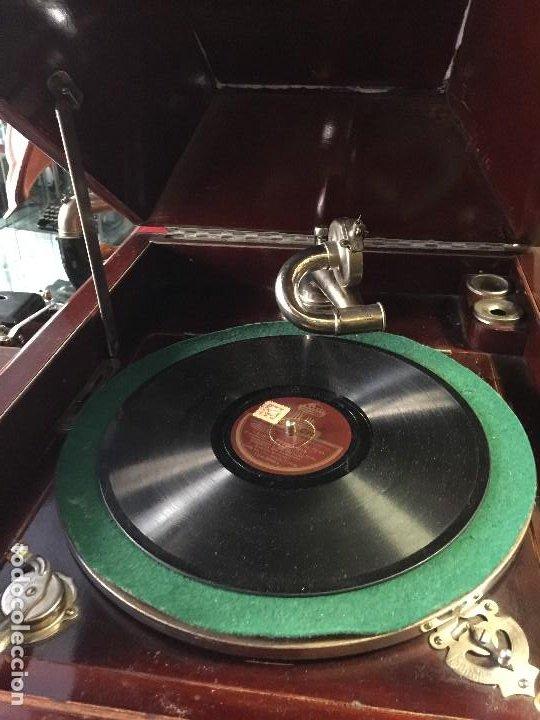 Gramófonos y gramolas: GRAMOFONO DE SALON AÑOS 30 - Foto 5 - 125422603