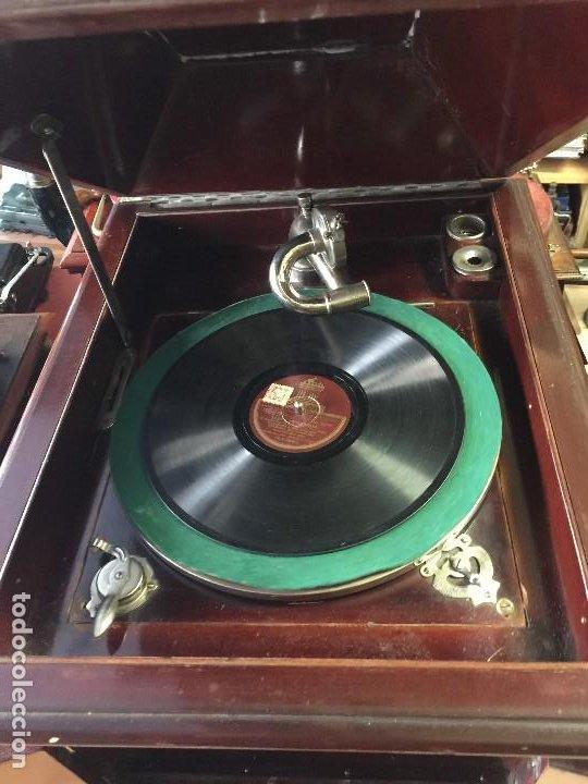 Gramófonos y gramolas: GRAMOFONO DE SALON AÑOS 30 - Foto 9 - 125422603