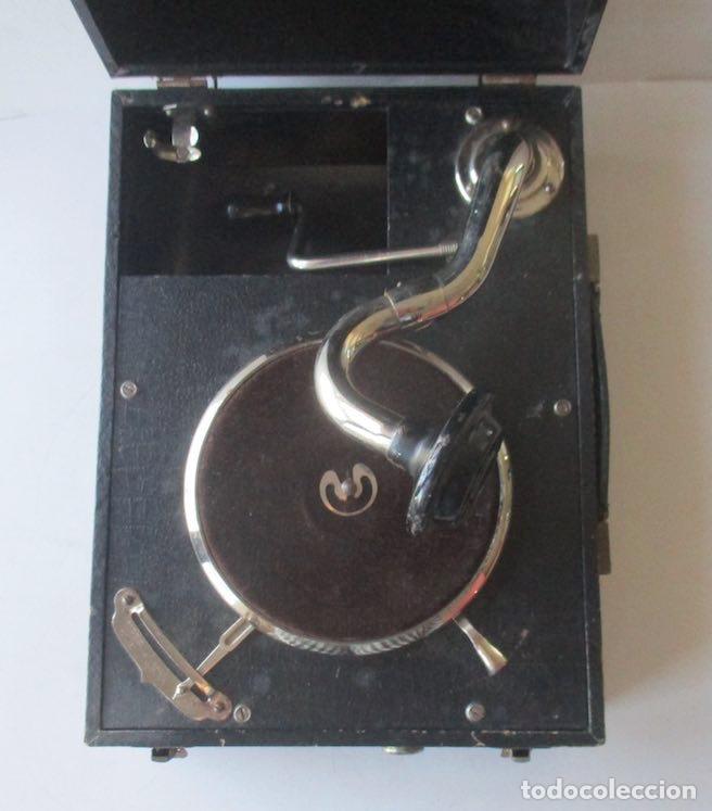 Gramófonos y gramolas: ANTIGUA GRAMOLA MIKI - Foto 3 - 127438895