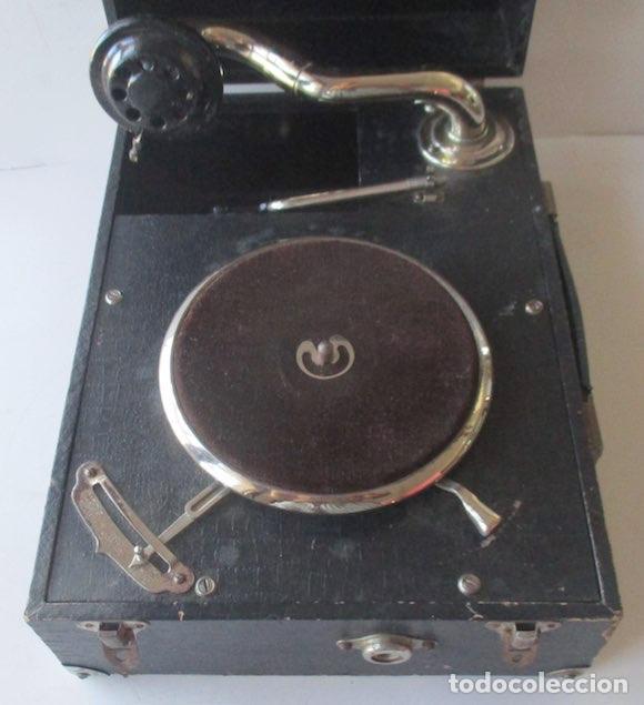 Gramófonos y gramolas: ANTIGUA GRAMOLA MIKI - Foto 4 - 127438895