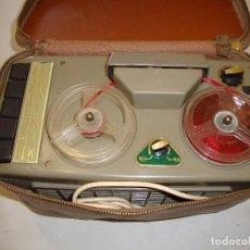Gramófonos y gramolas: ANTIGUO MAGNETOFÓN. Lote 127757275