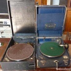 Gramófonos y gramolas: DOS GRAMOLAS. Lote 128546887