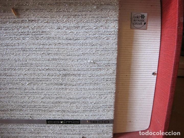Gramófonos y gramolas: Radio tocadiscos maleta marca cosmo para piezas - Foto 5 - 130104995