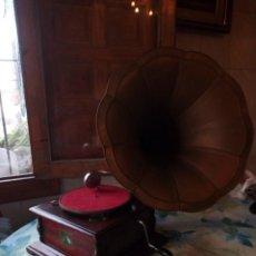 Gramófonos y gramolas: GRAMOLA LA VOZ DE SU AMO.ORIGINAL.. Lote 132304786