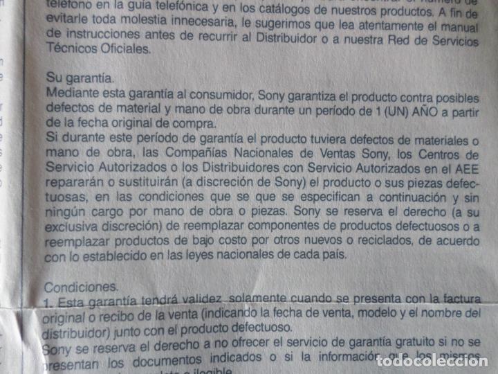 Gramófonos y gramolas: CASSETTE SONY CONDER TCM 939 - Foto 21 - 132912146