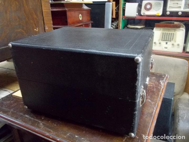 Gramófonos y gramolas: gramola odeon Funcionando - Foto 5 - 132933722