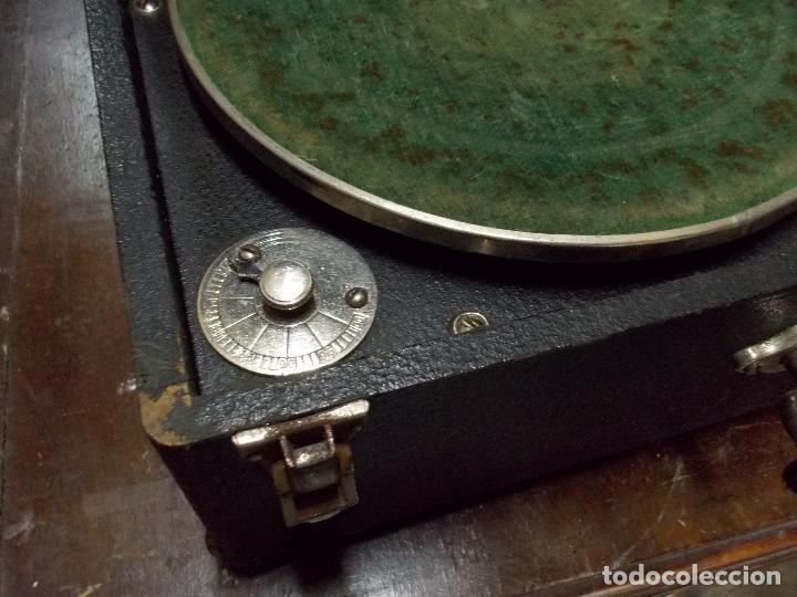 Gramófonos y gramolas: gramola odeon Funcionando - Foto 11 - 132933722