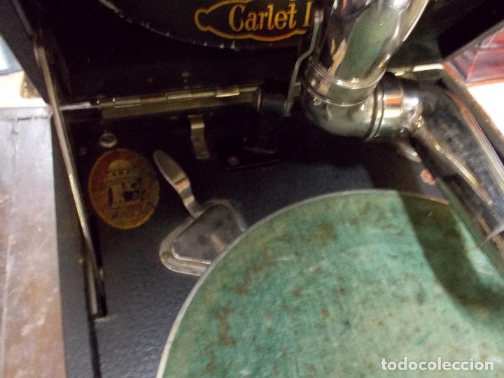 Gramófonos y gramolas: gramola odeon Funcionando - Foto 12 - 132933722