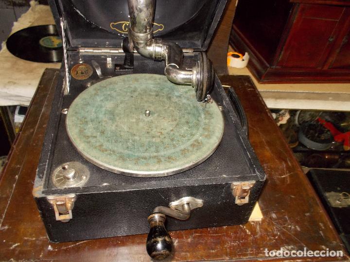 Gramófonos y gramolas: gramola odeon Funcionando - Foto 13 - 132933722