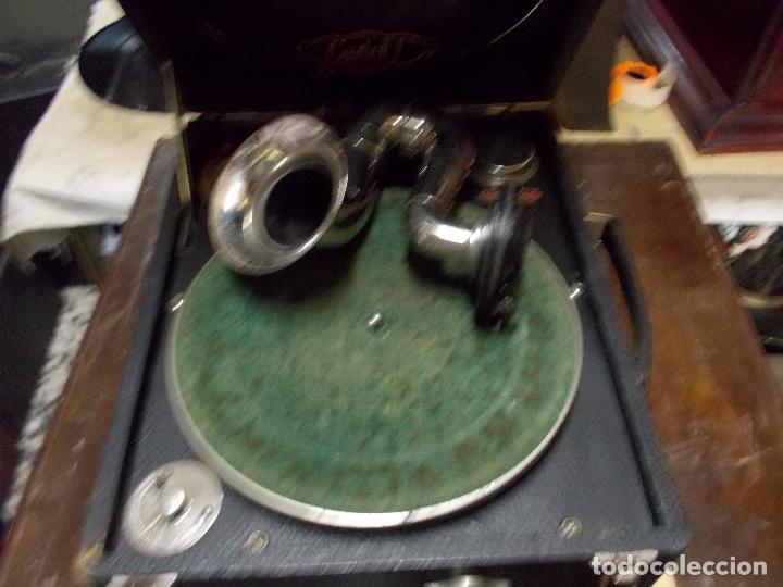 Gramófonos y gramolas: gramola odeon Funcionando - Foto 16 - 132933722