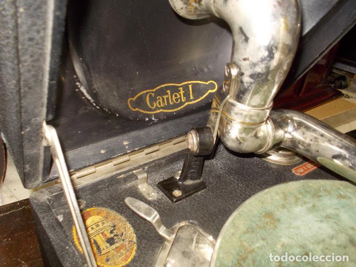 Gramófonos y gramolas: gramola odeon Funcionando - Foto 19 - 132933722