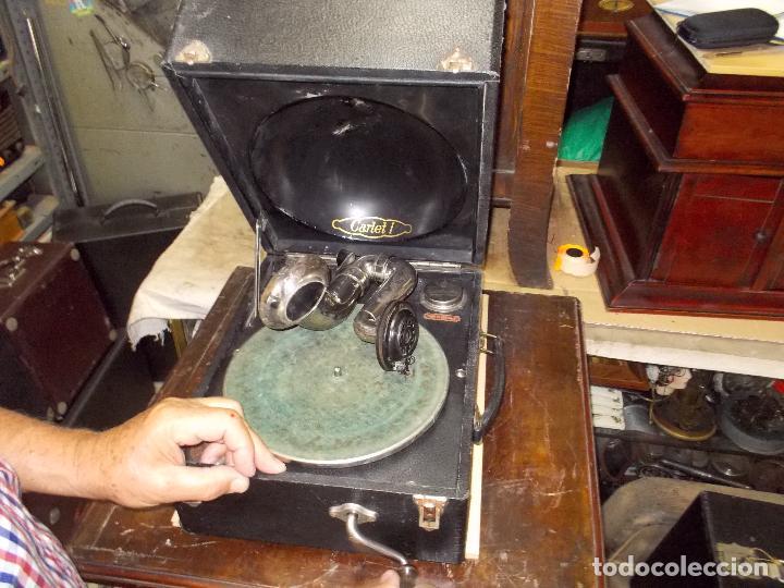 Gramófonos y gramolas: gramola odeon Funcionando - Foto 22 - 132933722