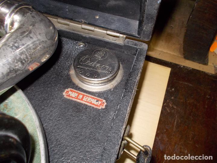 Gramófonos y gramolas: gramola odeon Funcionando - Foto 23 - 132933722