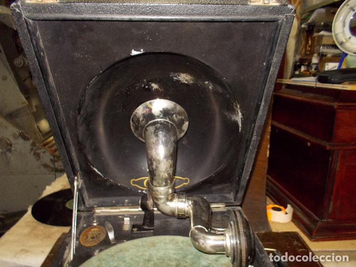Gramófonos y gramolas: gramola odeon Funcionando - Foto 25 - 132933722