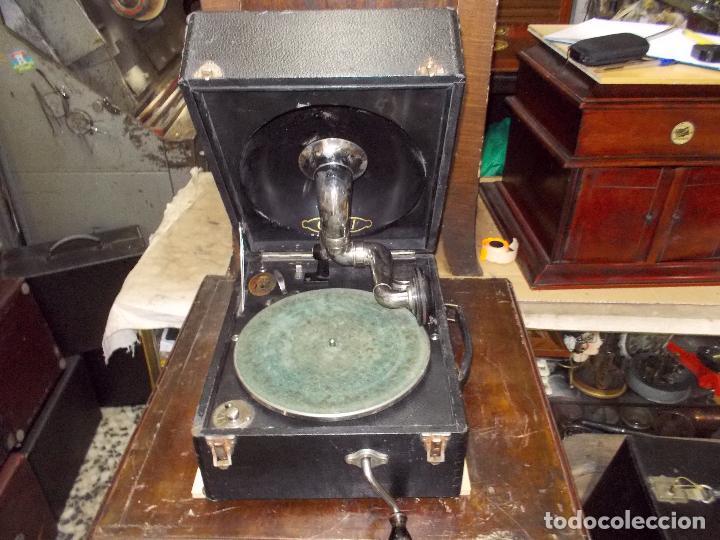 Gramófonos y gramolas: gramola odeon Funcionando - Foto 27 - 132933722
