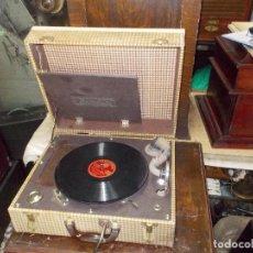 Gramófonos y gramolas: GRAMOLA PORTAFONICFUNCIONANDO. Lote 132937082