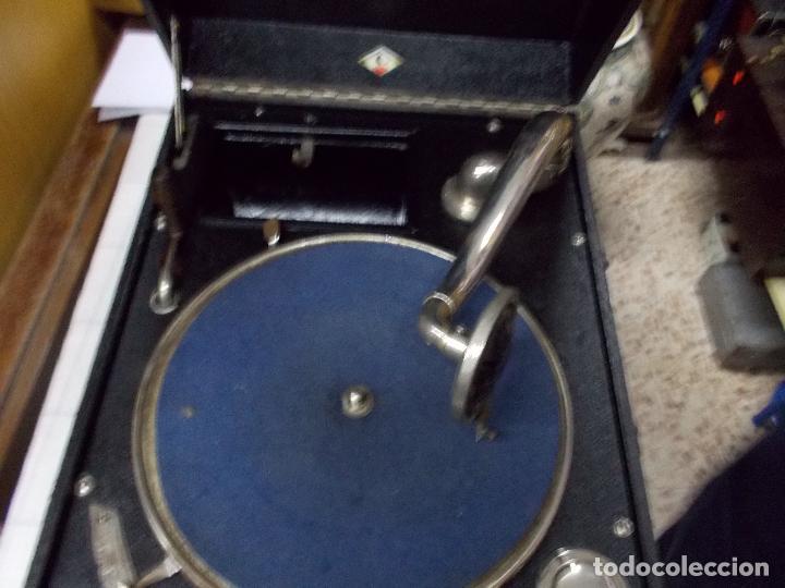 Gramófonos y gramolas: Gramola funcionando - Foto 8 - 133754794