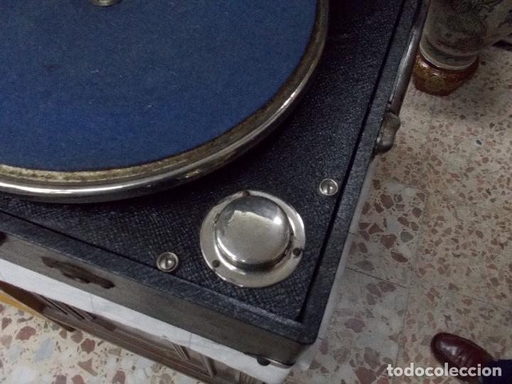 Gramófonos y gramolas: Gramola funcionando - Foto 10 - 133754794