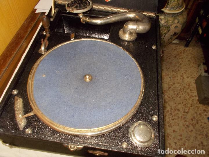Gramófonos y gramolas: Gramola funcionando - Foto 15 - 133754794
