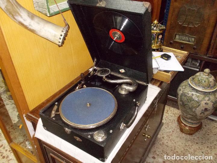 Gramófonos y gramolas: Gramola funcionando - Foto 17 - 133754794