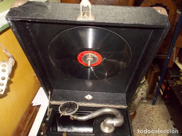 Gramófonos y gramolas: Gramola funcionando - Foto 21 - 133754794