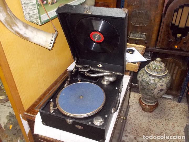 Gramófonos y gramolas: Gramola funcionando - Foto 22 - 133754794